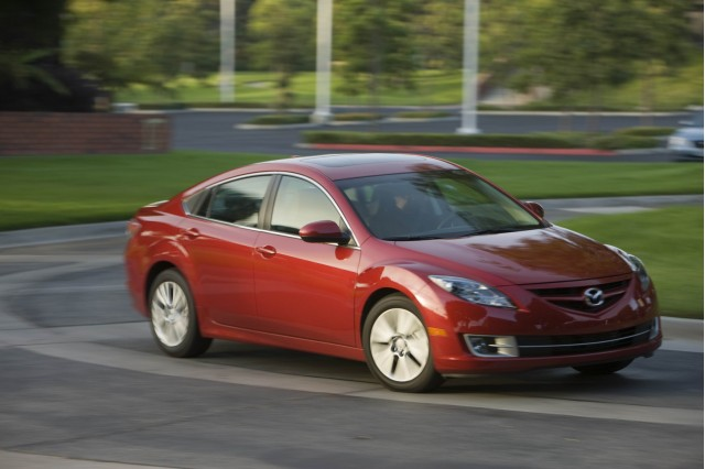 49K Mazda 6 sedans recalled over rust risk