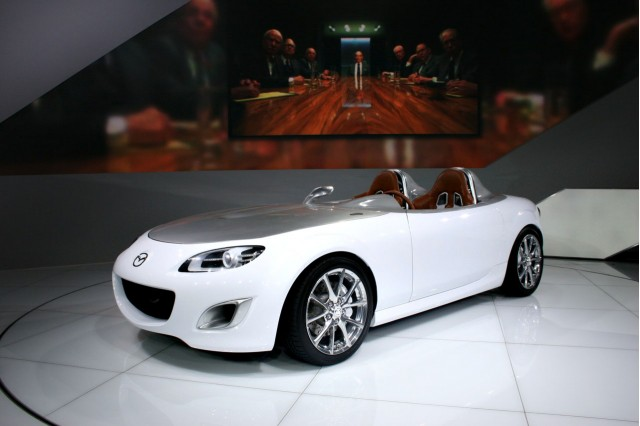 2009 Mazda MX-5 Miata Superlight concept at the 2009 Frankfurt auto show