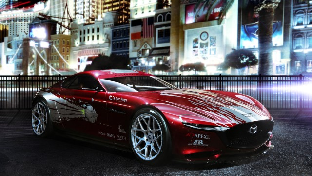 Mazda Rx Vision Fast And Furious Livery
