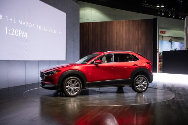 2021 Mazda CX-30, 2019 LA Auto Show