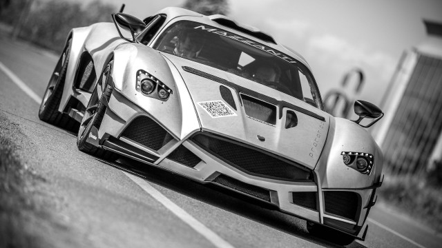 Mazzanti Evantra Millecavalli prototype tests