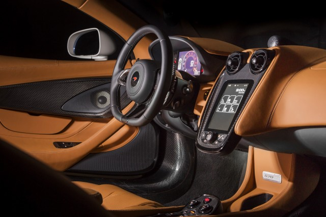 McLaren 570GT by MSO concept, 2016 Monterey Car Week