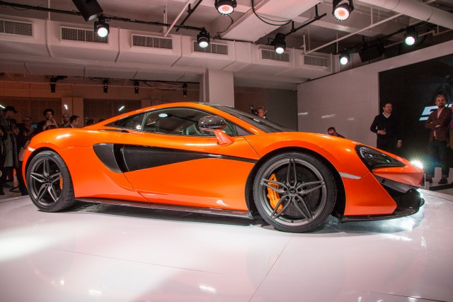 McLaren 570S Coupe live photos, 2015 New York Auto Show