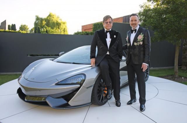 Bespoke McLaren 570S Spider raises money for Elton John AIDS Foundation