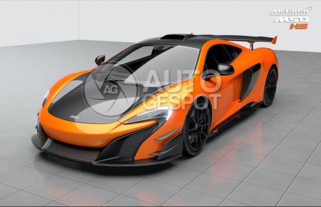 McLaren 688 High Sport leaked - Image via Auto Gespot