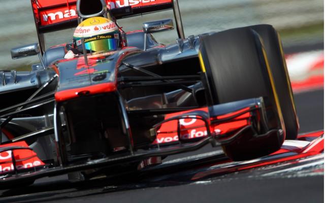 McLaren at the 2012 Formula 1 Belgian Grand Prix