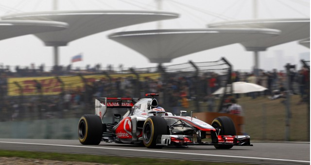 McLaren at the 2012 Formula 1 Chinese Grand Prix