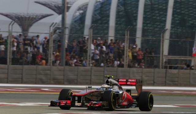 McLaren at the 2012 Formula 1 Singapore Grand Prix