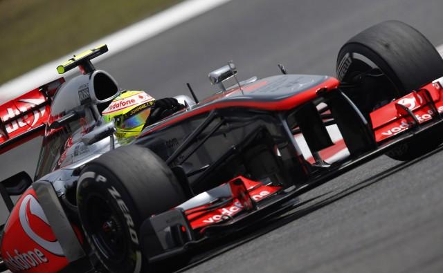 McLaren at the 2013 Formula One Bahrain Grand Prix