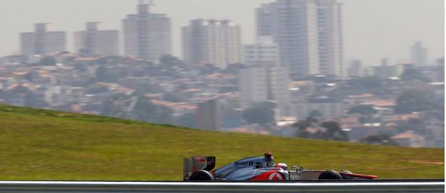 McLaren at the 2013 Formula One Brazilian Grand Prix