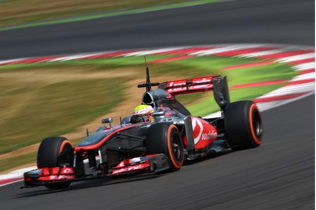 McLaren at the 2013 Formula One Hungarian Grand Prix