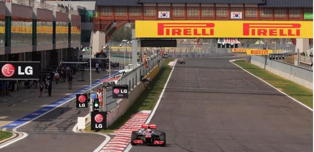 McLaren at the 2013 Formula One Korean Grand Prix