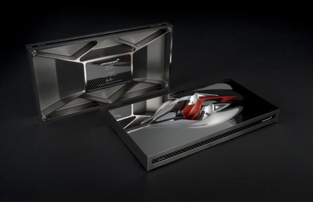 McLaren BP23-inspired 'Speed Form' sculpture