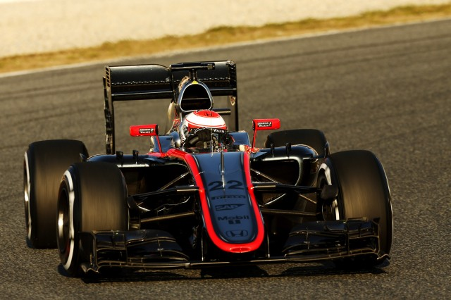 McLaren during pre-season testing for the 2015 Formula One World Championship
