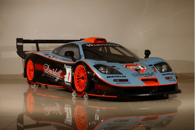 Gulf Team Davidoff 1997 McLaren F1 GTR race car