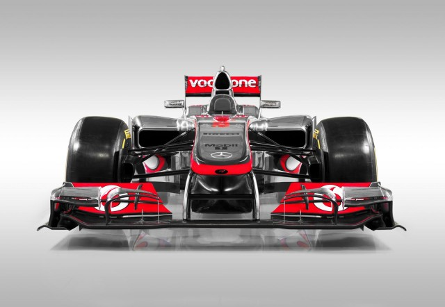 McLaren MP4-27 2012 Formula 1 race car