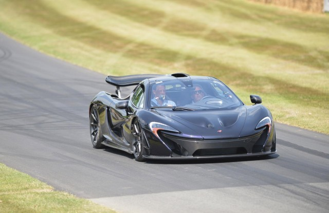 McLaren P1 at the Goodwood Festival of Speed