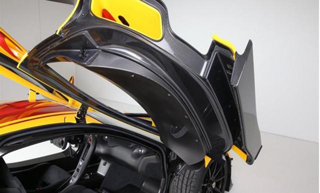 McLaren P1 GTR #001 - Image via duPont Registry