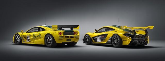 McLaren P1 GTR and F1 GTR