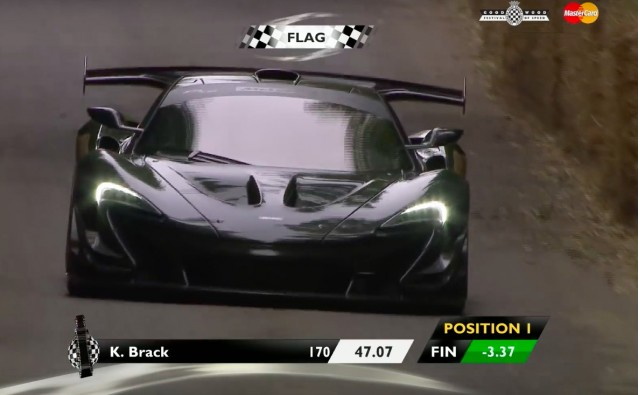 McLaren P1 LM at 2016 Goodwood Hillclimb