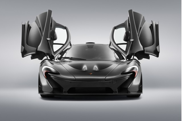 McLaren P1 with McLaren Special Operations upgrades