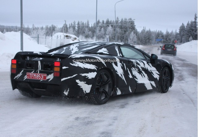 mclaren p11 supercar spy shots feb 005