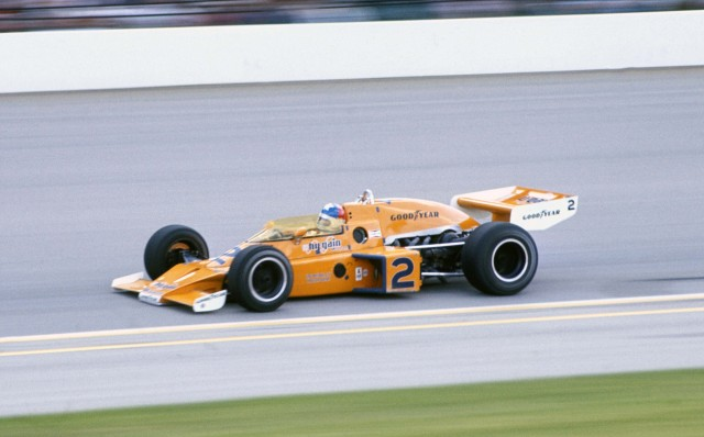 McLaren race car in the 1976 Indianapolis 500