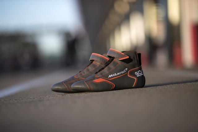 McLaren race shoes