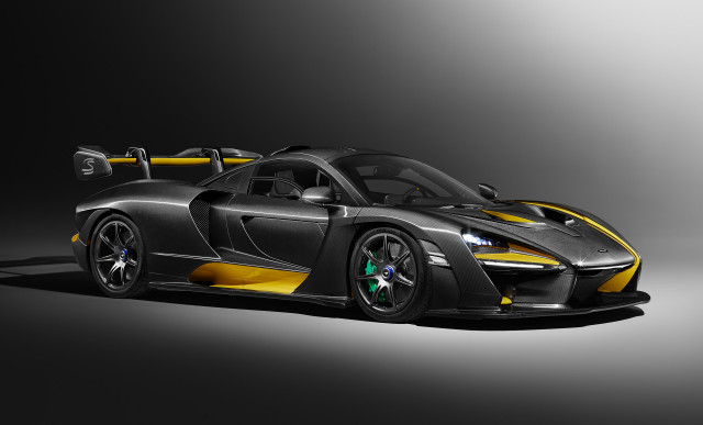 Check Out This McLaren Special Operations Carbon Fiber Senna