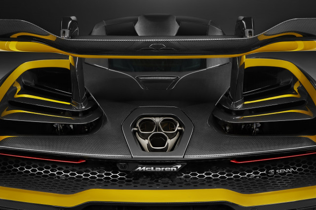 McLaren reveals special 'Carbon Theme' for already-special Senna hypercar