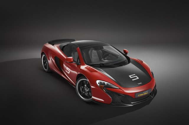A New Year and a new look for McLaren 12C and 650S