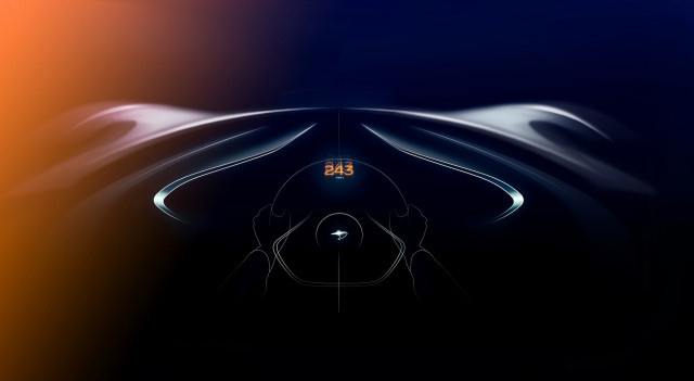 McLaren BP23 will have a higher top speed than the F1