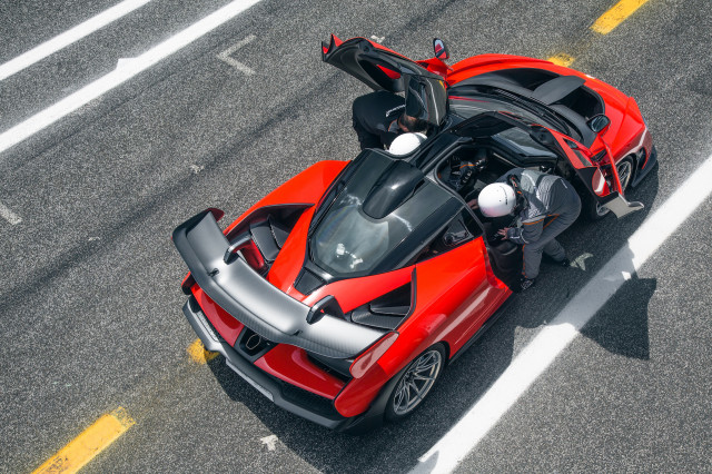 2019 McLaren Senna, Portugal Media Drive, June 2018