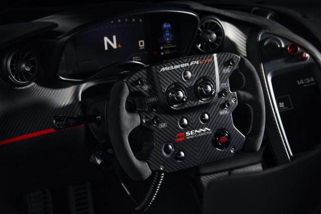 McLaren P1 GTR by MSO to commemorate Ayrton Senna