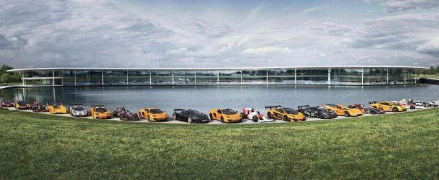 McLaren's 2013 Goodwood Festival of Speed lineup