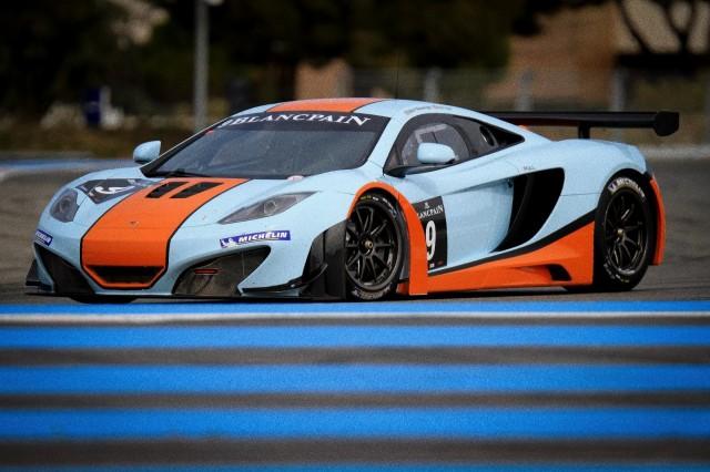 McLaren's MP4-12C GT3 racers