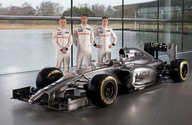 McLaren's MP4-29 2014 Formula One car