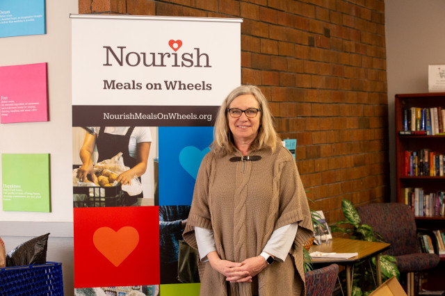 Diane McClymonds is executive director of Nourish Meals on Wheels.