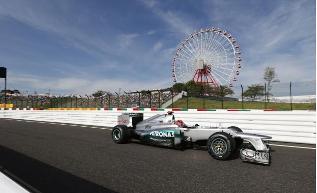Mercedes-AMG at the 2012 Formula 1 Japanese Grand Prix