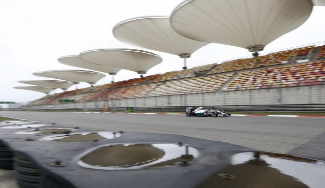 Mercedes AMG at the 2014 Formula One Chinese Grand Prix