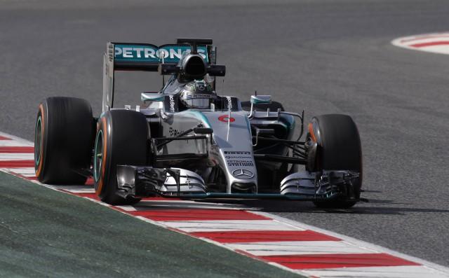Mercedes AMG at the 2015 Formula One Australian Grand Prix