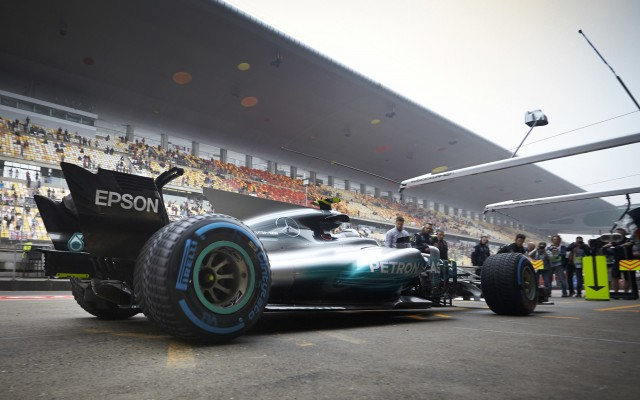Mercedes AMG at the 2017 Formula One Chinese Grand Prix