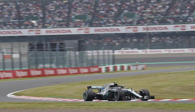 Mercedes-AMG at the 2018 Formula 1 Japanese Grand Prix
