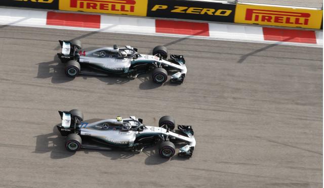 Mercedes-AMG at the 2018 Formula 1 Russian Grand Prix