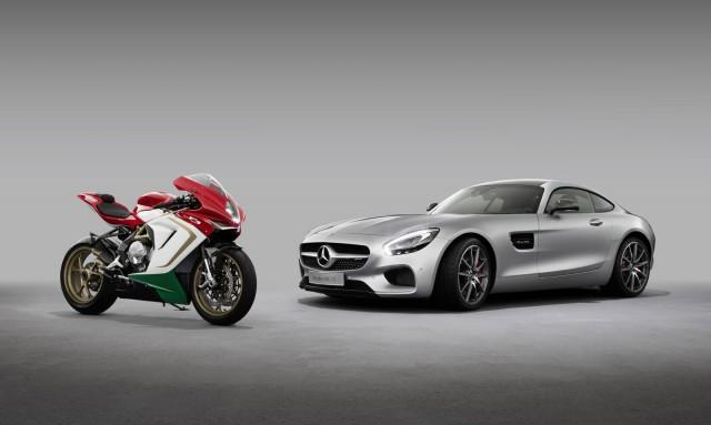 Mercedes-AMG buys 25 percent of MV Agusta