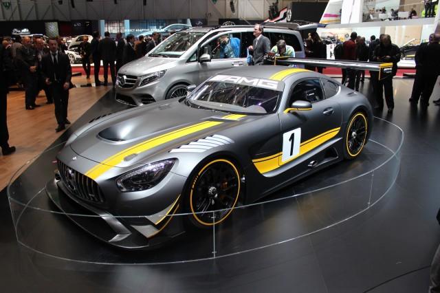 2016 Mercedes-AMG GT3 race car, 2015 Geneva Motor Show