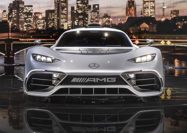 Mercedes-AMG Project One concept, 2017 Frankfurt Motor Show