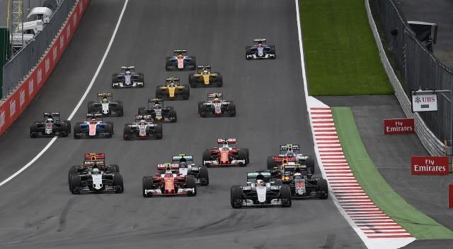 2016 Formula One Austrian Grand Prix