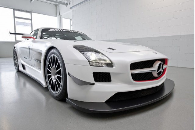 mercedes benz sls amg black series coming gt3 not for u s report. Black Bedroom Furniture Sets. Home Design Ideas