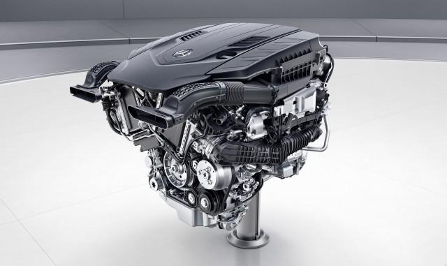 Mercedes-Benz 4.0-liter V-8